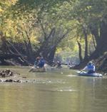 Canoeing Cedar Creek