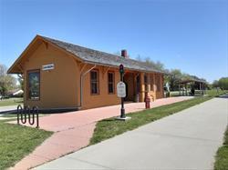 Dawson Depot exterior on RRVT