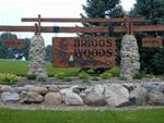 Briggs Woods Entrance - Welcome to Briggs Woods Park and Golf Course.