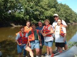 Canoeing at Washta Access