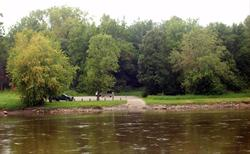 McKeown Bridge River Access Boat Ramp on Cedar River