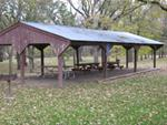 Picnic shelter at West Idlewild Campground[4]