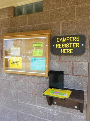 Camping Registration at Meadowlark Campground