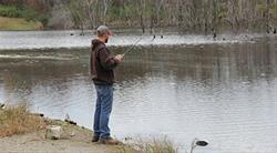 Fishing at Big Hollow