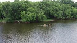 Canoeing at Matsell Bridge