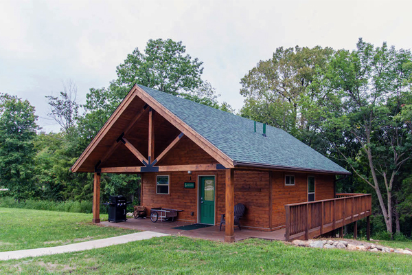 Jester Park Cabin 1- Hickory-one bdrm, cap. six -No Image
