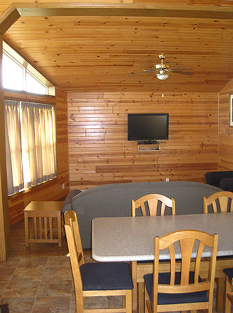 Osprey Cabin Living Area