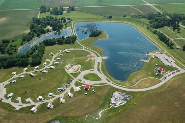 Dakins Lake Main Campground Site 9 -No Image