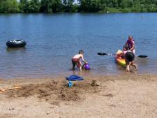 Beach Fun at Scharnberg Park - Clay County