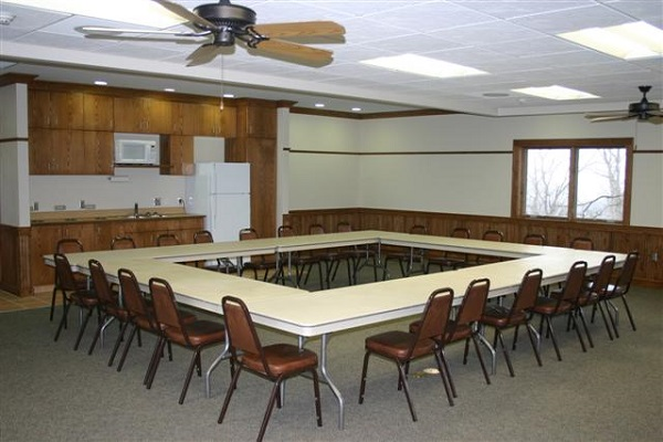 The Goldfinch Room at the Loess Hills Lodge -No Image