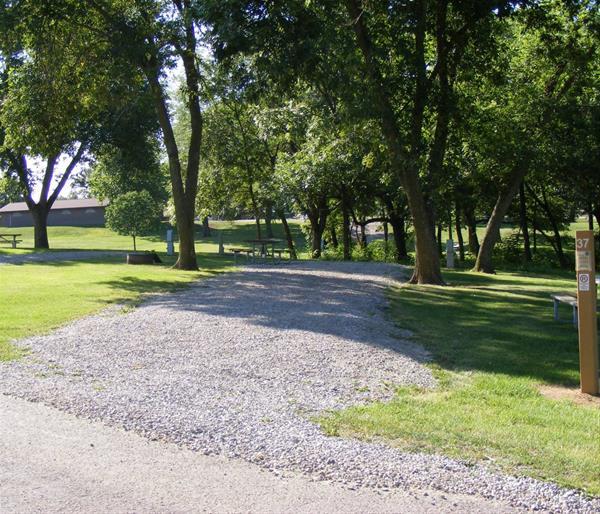 Marion County Park, Campsite #37 -No Image