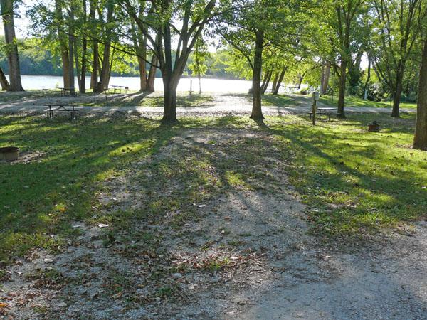Bentonsport Campground site 09 -No Image