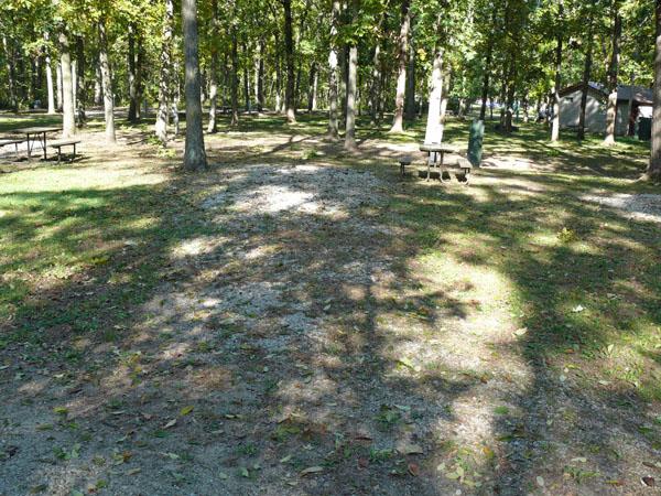 Morris Campground site 07 -No Image