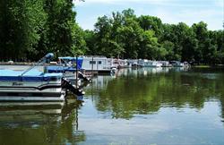The Marina at Rock Creek Marina & Campground, Clinton County, Iowa