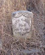 Pioneer Tombstone