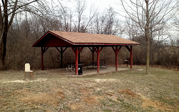 Big Hollow RV Campground Shelter House -No Image