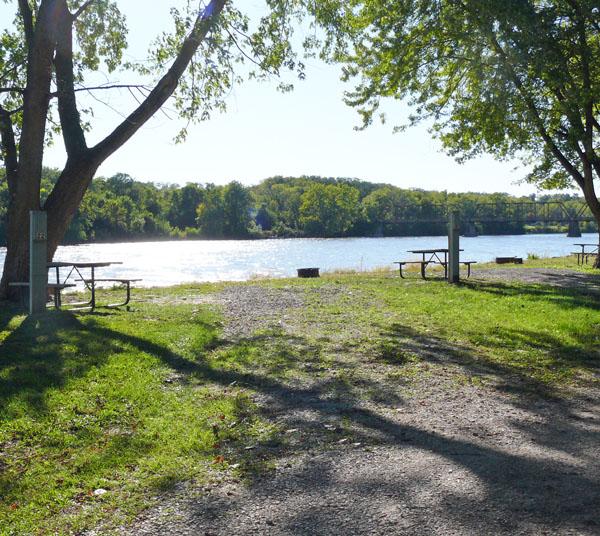 Bentonsport Campground site 22 -No Image