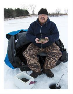 Ice Fishing at Willow Lake