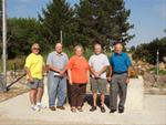 Monona County Coservation Board Members - Joe Landers, Donald Lamb, Nancy McGrain, Craig Hartman and Larry Sessions
