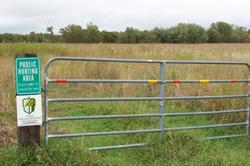 Prairie entrance