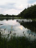 Lake Iowa handicap accessible boat ramp