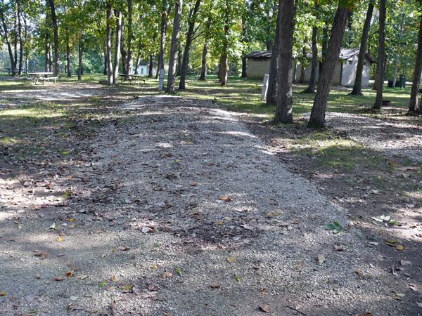 Morris Campground site 03 -No Image