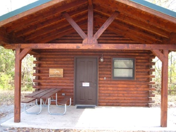 Whitetail Cabin Exterior