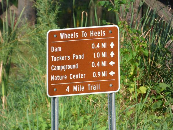 Wheels to Heels Trail at Yellow Smoke Park -No Image