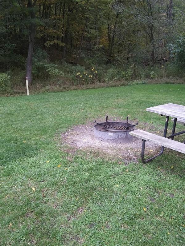 Bloody Run Campground, Campsite #3 -No Image