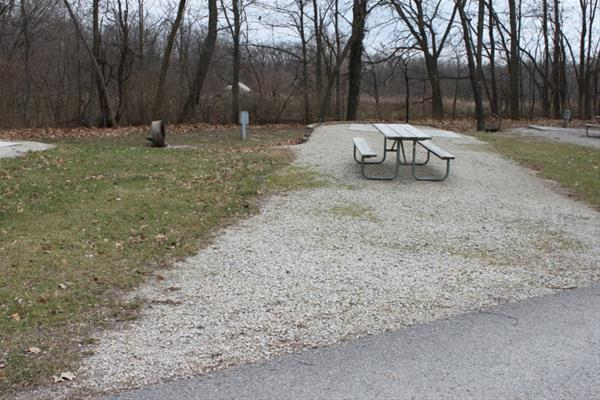 Pammel Park Campground Site 26 -No Image