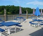 Boathouse Deck at West Lake Park