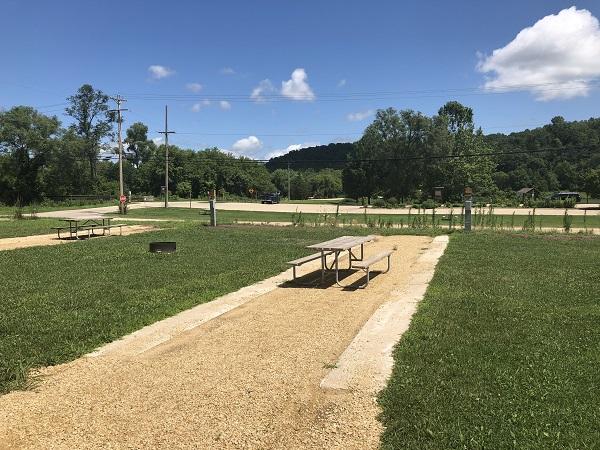 Heritage Campground Campsite 02 -No Image