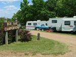 Bur Oak Campground / South side of Hillview