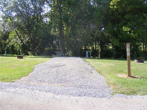 Marion County Park, Campsite #33 -No Image