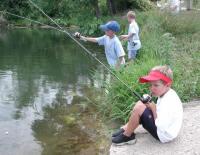 Fishing at Willow Lake
