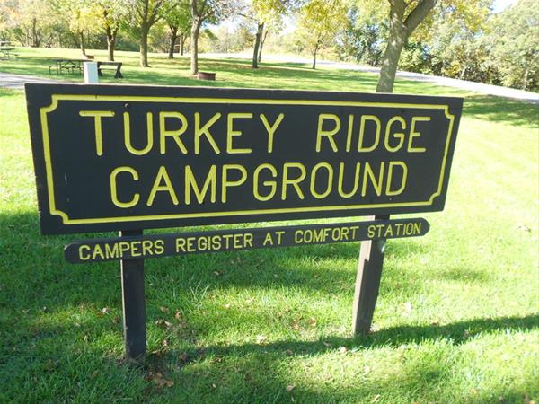 Entrance Sign to Turkey Ridge