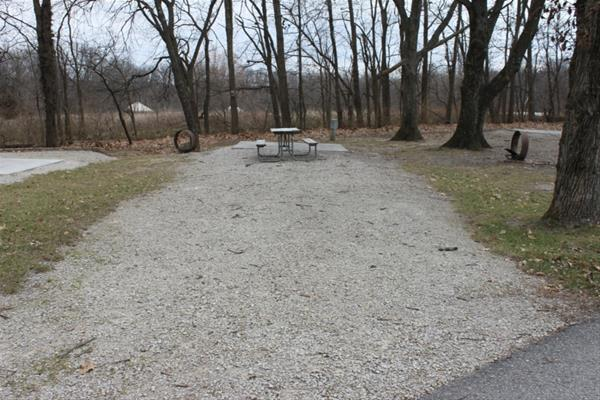 Pammel Park Campground Site 24 -No Image