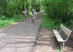 Riders on the Raccoon River Valley Trail