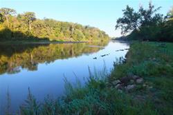 Wapsipinicon River at Sherman Park