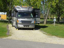 Swiss Valley Campground: Campsite 21 -No Image