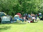 Group Camping at Pinicon Ridge Park - Linn County Conservation