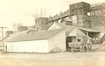 Photo fo the kilns in the late 1800s