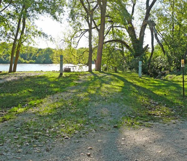 Bentonsport Campground site 13 -No Image