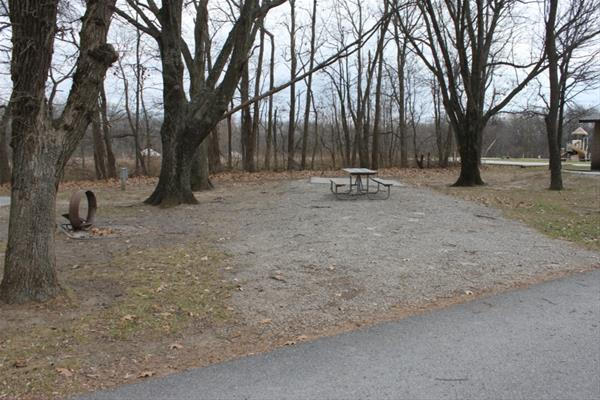 Pammel Park Campground Site 22 -No Image