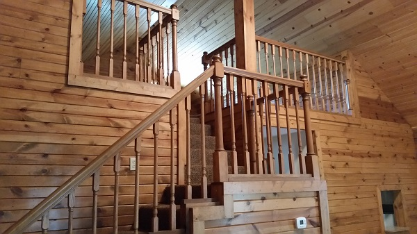 Cabin 3 stairs to loft