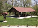 Typical park shelter available for use throughout Iowa