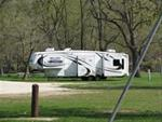 Camper in Gouldsburg Campground