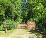 Entering the Recreation Trail from 45th Street just east of Spragueville