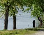 Fishing the Cedar River at Jack Shuger Memorial Park