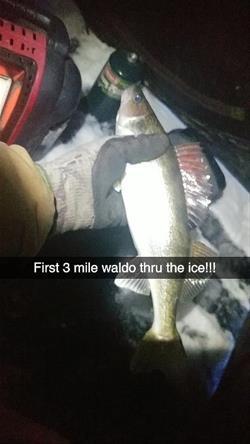 2018 Three Mile Walleye Ice Fishing